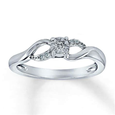 jessica bardwell motherdaughter infinity ring  kay jewelers  kay jewelers promise