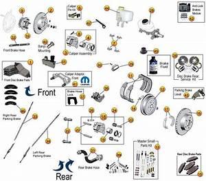 Brake Parts For Liberty Kj  U0026 Kk