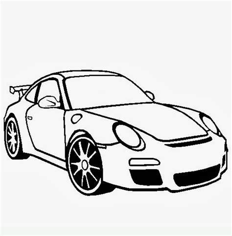 disegni da colorare auto