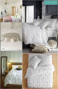 Bedroom, Inspiration, -, White, Bedding