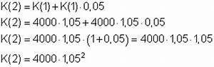 Sparbuch Zinsen Rückwirkend Berechnen : zinseszinsrechnung mathe brinkmann ~ Themetempest.com Abrechnung