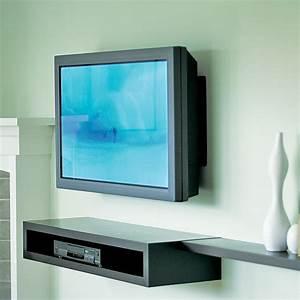 Fixer Tv Au Mur Sans Voir Les Fils : 5 id es d co pour placer une t l grand cran dans un petit salon astuces d co ~ Preciouscoupons.com Idées de Décoration