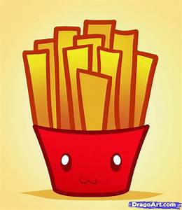 How to Draw Fries, Fries, Step by Step, Food, Pop Culture ...