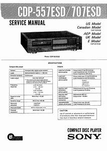Sony Cdp557esd