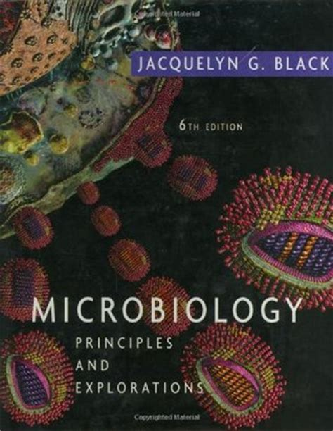 microbiology principles  explorations  jacquelyn  black reviews discussion bookclubs