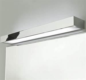 Spiegellampe Mit Schalter : hochwertige badspiegel lampe ip44 mit edlem chrom tallin 600 ~ Whattoseeinmadrid.com Haus und Dekorationen