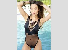 Black Netted Mesh Wing Patch Sexy Swimsuit #020077 Sexy