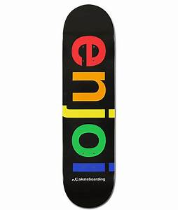 "Enjoi Spectrum Logo 8.0"" Team Deck Skateboard Deck at ..."