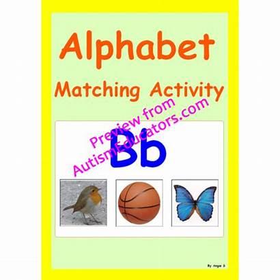 Alphabet Teaching Kindergarten Matching Activity Activities Phonics