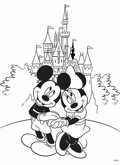 Disney Coloring Pages Printable Mickey Sheets Mouse