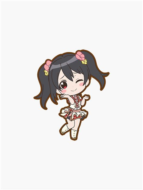 nico yazawa all chibi sticker sticker by