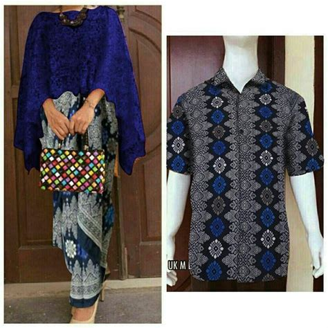 jual premium quality couple cape kebaya brukat batik cl