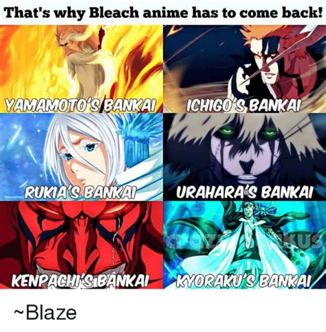bleach anime come back that s why bleach anime has to come back yamamoto