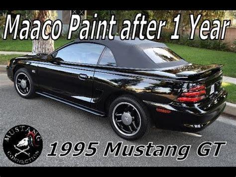 maaco paint job  year   ford mustang gt