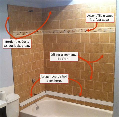 how to tile a wall 6 secrets for who want to tile a basement bathroom