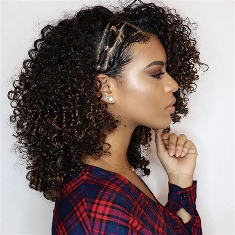 side swept curls hairstyles naturallycurlycom naturallycurlycom