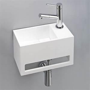 Petit Lave Main Wc : design pratique et peu encombrant lave main avec porte ~ Premium-room.com Idées de Décoration