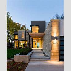 Modern Exterior Cladding Brick, Block + Stone  Studio Mm