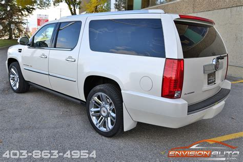 cadillac escalade esv platinum edition loaded envision auto calgary highline luxury