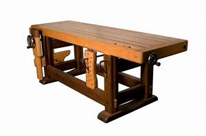 Hand Made Woodworking Bench by Gerspach Handcrafted