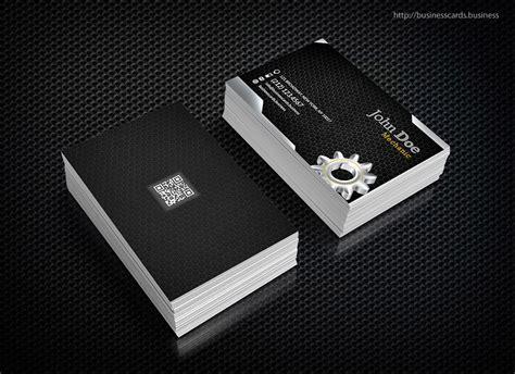 mechanic business card template business cards