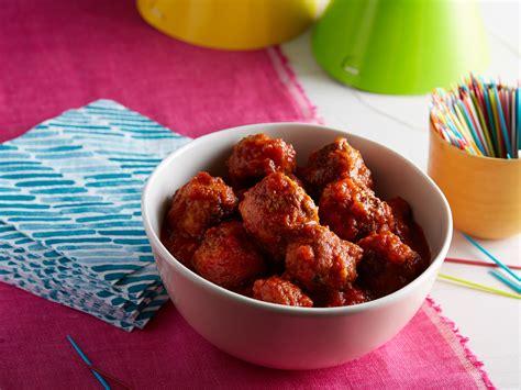 mini turkey meatballs recipe food wine meatball