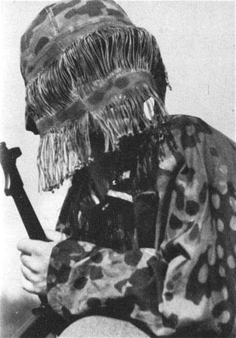 Reproduction 2nd Model Waffen SS Face Veil