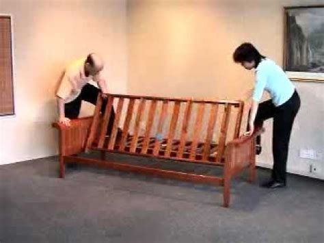 futon assembly   assemble  futon frame bronze