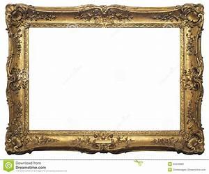 Cadre De Tableau : cadre de tableau d 39 isolement par antiquit photo stock ~ Dode.kayakingforconservation.com Idées de Décoration