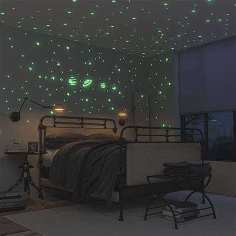 Ceiling Glow Stickers by 50 Space Themed Home Decor Accessories To Satiate Your
