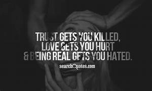 Hurt Trust Quotes, Quotations & Sayings 2018