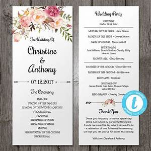 17 best ideas about bohemian weddings on pinterest With traditional wedding program templates