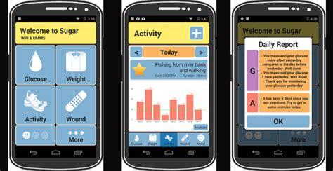 pilot clinical study  test sugar diabetes app