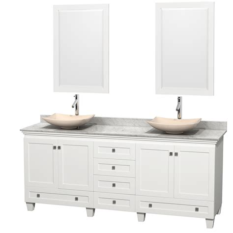 80 inch double sink bathroom vanity wyndham collection wcv800080dwhcmgs5m24 acclaim 80 inch