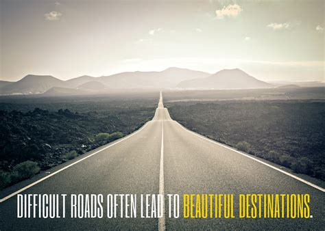 Inspirational Quote: Difficult Roads - Lakehouse Recovery ...