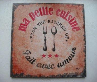 affiche vintage cuisine tableau décoratif style affiche vintage pour cuisine ou