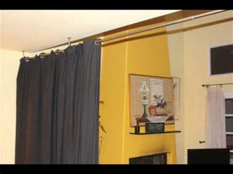 black room divider fabric curtain bedroom divider