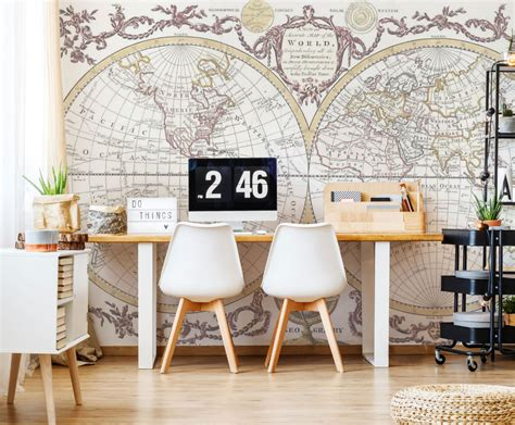 Wall Mural Ideas Office by 53 Amazing Wall Mural And Wallpaper Ideas Removable