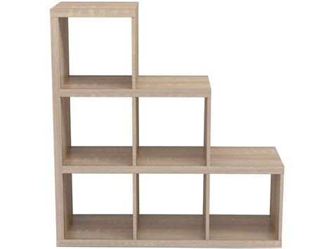 bibliotheque bois alvin vente de biblioth 232 que conforama
