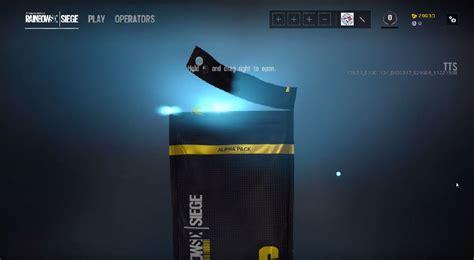 rainbow  siege  loot boxes   update vg