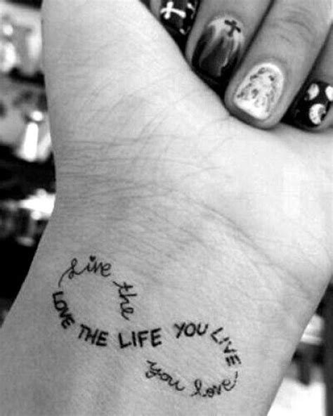 22 Simple but Meaningful Tattoo Ideas for Women | Infinity sign tattoo, Wrist tattoos for women