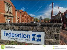 Federation University In Ballarat Editorial Photography