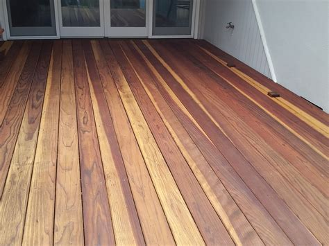 redwood deck cal preserving
