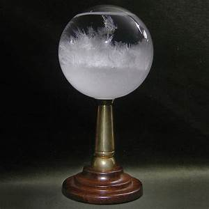 H M S Beagle Admiral's Storm Glass - Mysterious Weather