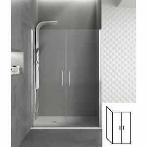 Paroi de douche d39angle portes battantes helia i robinet for Portes battantes douche