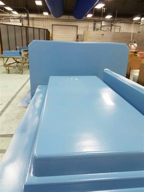 revolutionary blue barrier coating  walk  showers