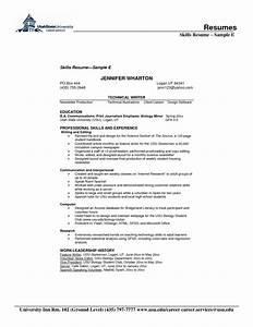Resume Skill Examples