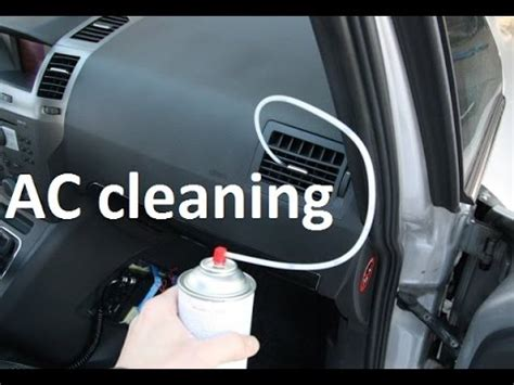 clean treat air conditioning   car