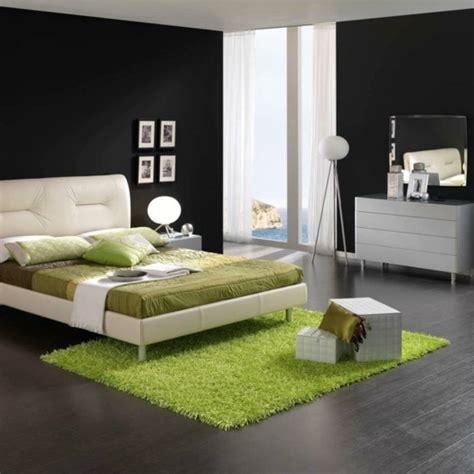 chambre ultra moderne aménager une chambre à coucher en vert 20 idées