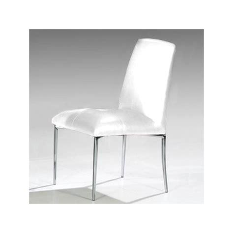 lot 4 chaises blanches lot de 4 chaises stella blanc